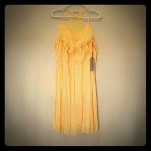 Brand new... yellow sundress
